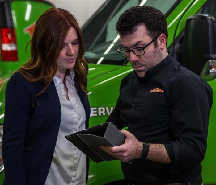 SERVPRO technician and business owner