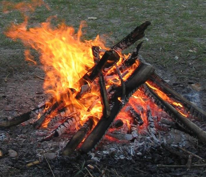 Fire Damage How to stay safe this summer when joining around the campfire