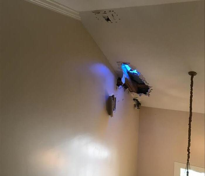 Why SERVPRO Residential Lightning Damage