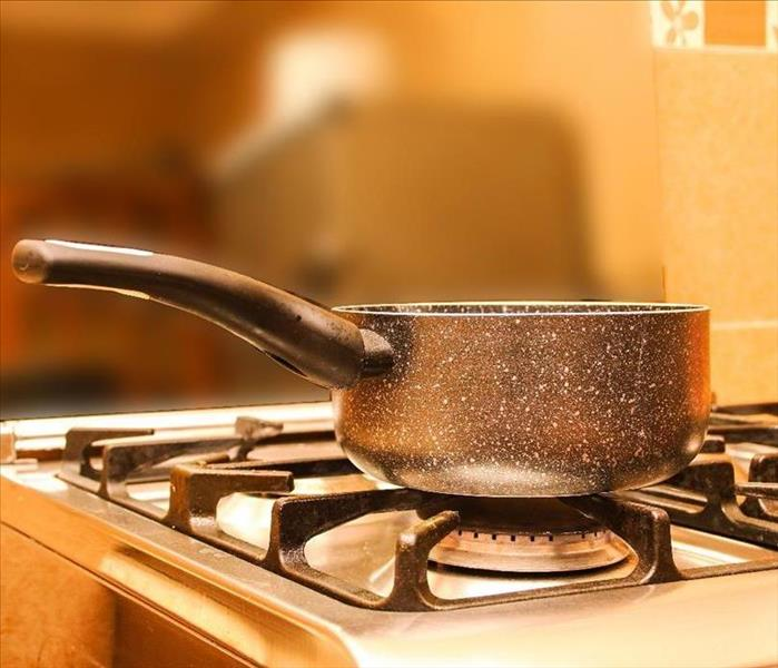 pot on stove
