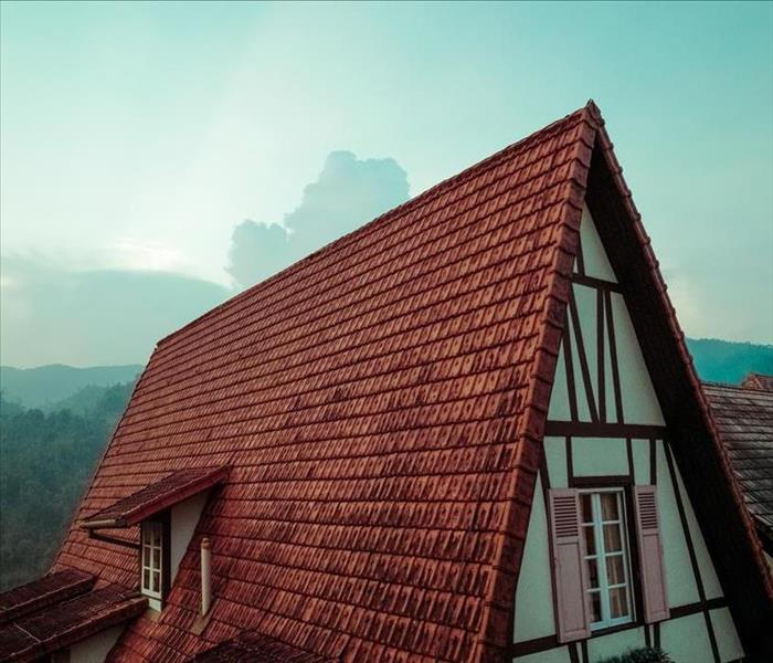 roof of home