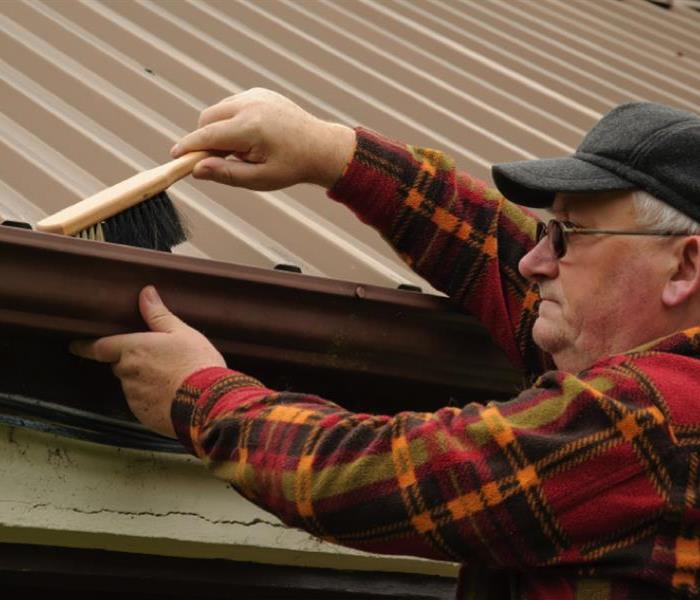 Water Damage Clean out your gutters to avoid flood damage in your Nashville home